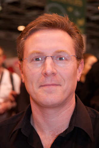 Author James Lovegrove.