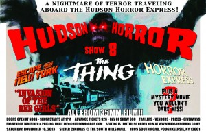 Click the picture to enlarge the Hudson Horror Show 8 Poster.