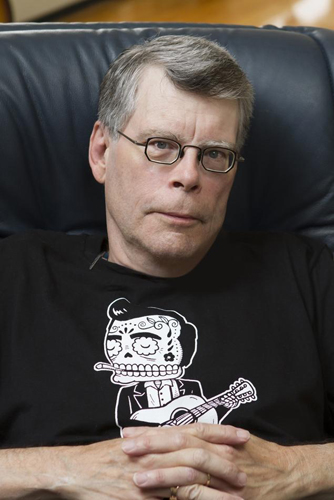 Author Stephen King.