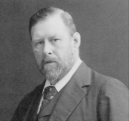 Horror royalty, Bram Stoker.