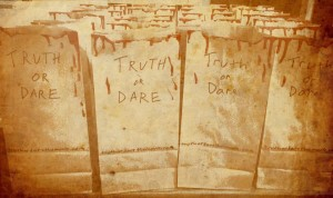 Truth or Dare vomit bags!